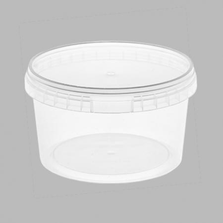 контейнер пищевой одноразовый пластиковый прозрачный