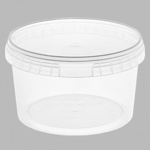 Контейнер пищевой 1 л, с крышкой и ручкой
